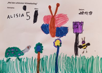 Alisia, 5 Jahre