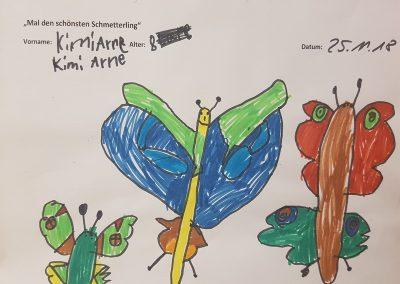 Kimi Arne, 8 Jahre