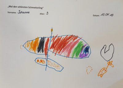 Johanna, 3 Jahre